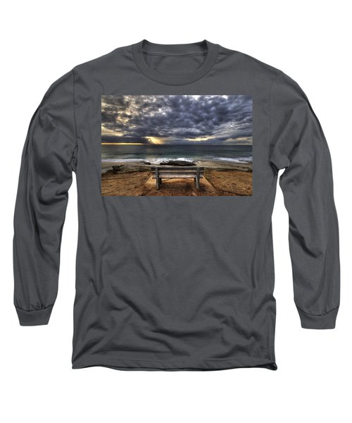 The Bench Long Sleeve T-Shirt by Peter Tellone
