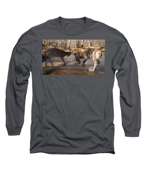 The Bill And Mike Show Long Sleeve T-Shirt by Bill Stephens
