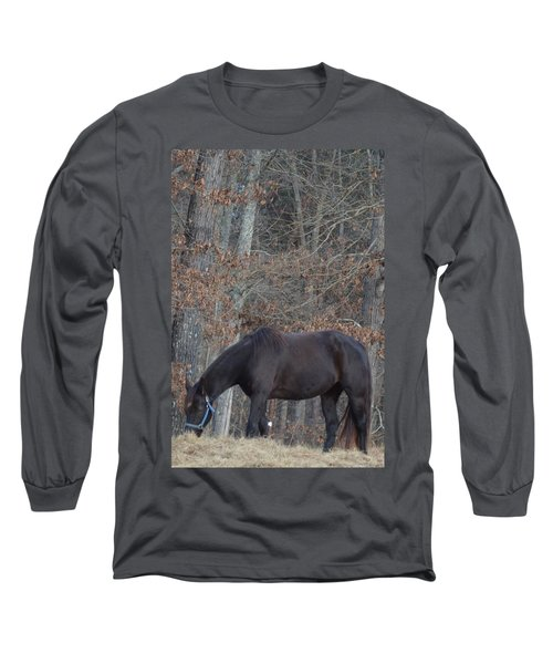 The Black Long Sleeve T-Shirt by Maria Urso
