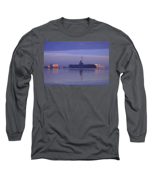 The Blue Ghost Long Sleeve T-Shirt