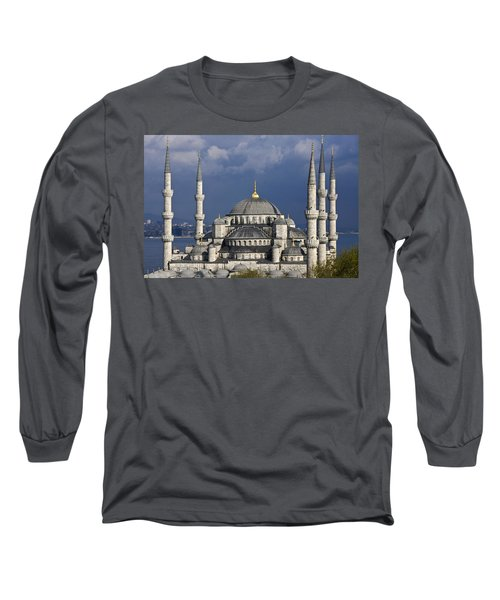 The Blue Mosque In Istanbul Long Sleeve T-Shirt