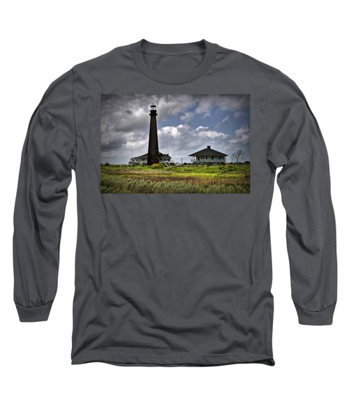 The Bolivar Lighthouse Long Sleeve T-Shirt by Linda Unger