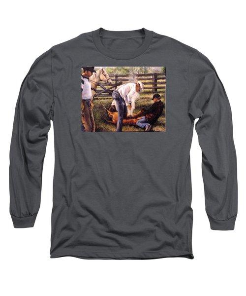 The Branding Long Sleeve T-Shirt by Donna Tucker