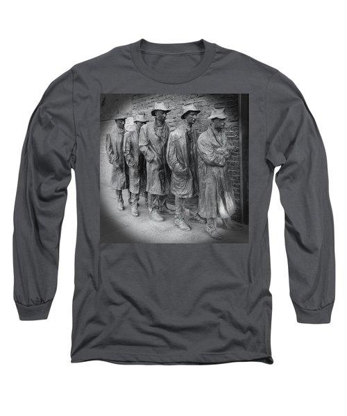The Breadline Bw - Fdr Memorial Long Sleeve T-Shirt