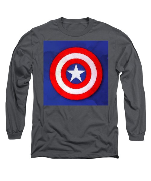 The Captain's Shield Long Sleeve T-Shirt
