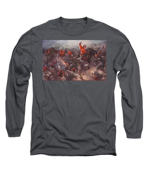The Charge Of Drury Lowes Cavalry Long Sleeve T-Shirt