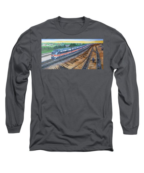 The City Of New Orleans Long Sleeve T-Shirt