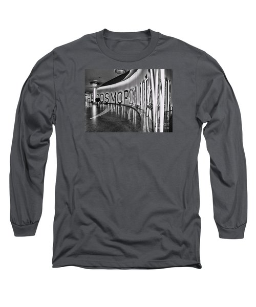 The Cosmopolitan Hotel Las Vegas By Diana Sainz Long Sleeve T-Shirt