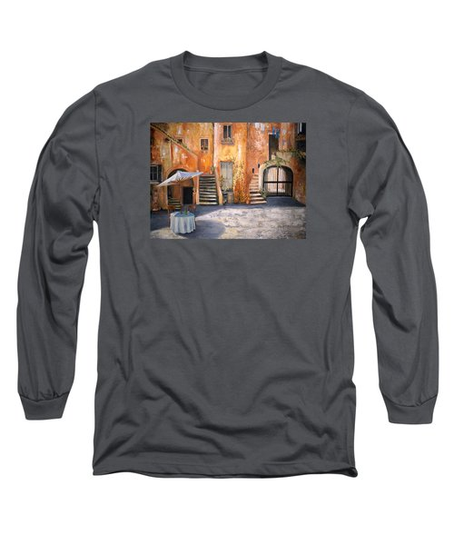 The Courtyard Long Sleeve T-Shirt