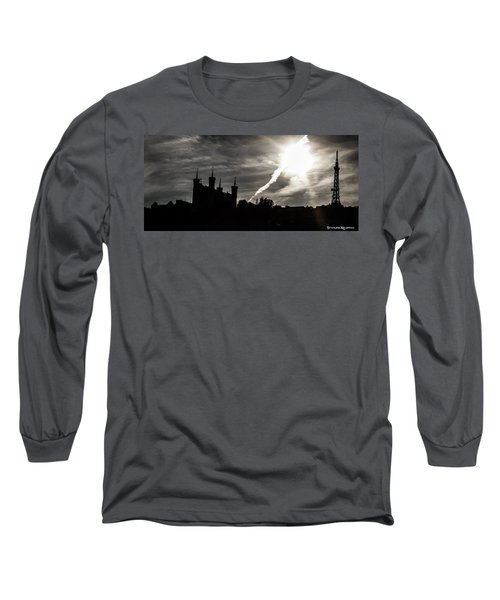 Long Sleeve T-Shirt featuring the photograph The Dark Towers by Stwayne Keubrick