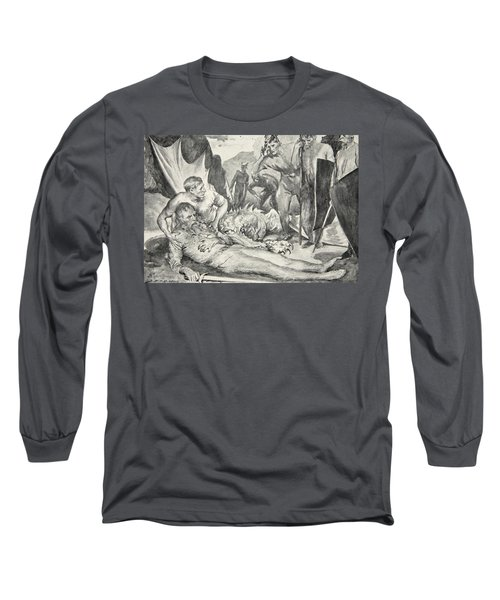 The Death Of Beowulf Long Sleeve T-Shirt