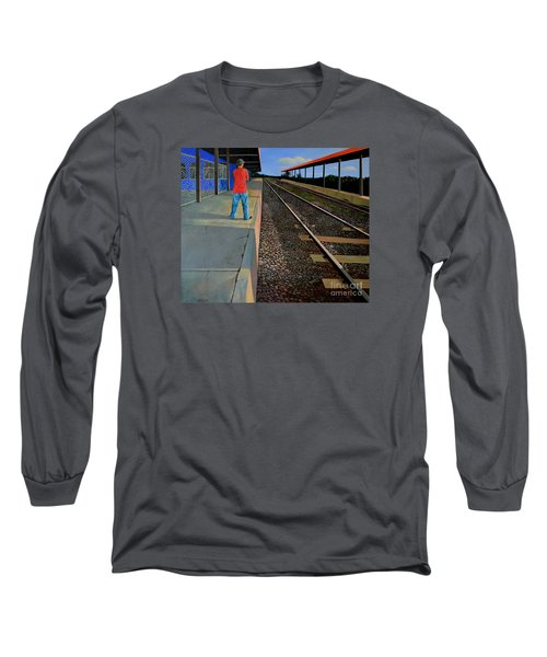 The Distance Of Solitude Long Sleeve T-Shirt