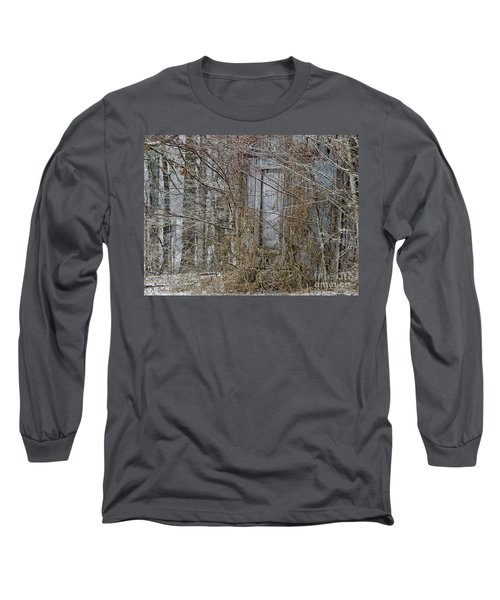 Long Sleeve T-Shirt featuring the photograph The Door To The Past by Wilma  Birdwell