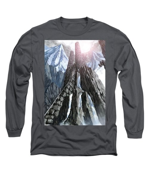 The Dragon Gate Long Sleeve T-Shirt by Curtiss Shaffer