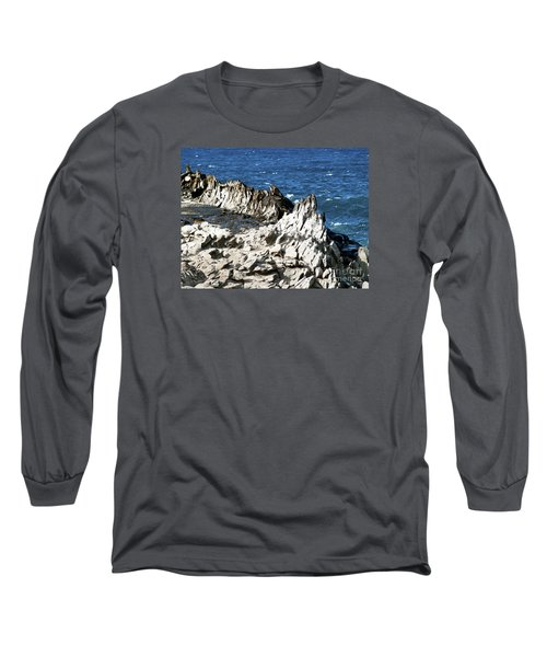 The Dragons Teeth I Long Sleeve T-Shirt by Patricia Griffin Brett