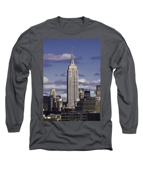 The Empire State Building Long Sleeve T-Shirt