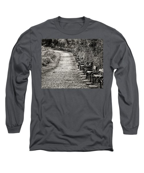 The English Reader Long Sleeve T-Shirt by William Beuther