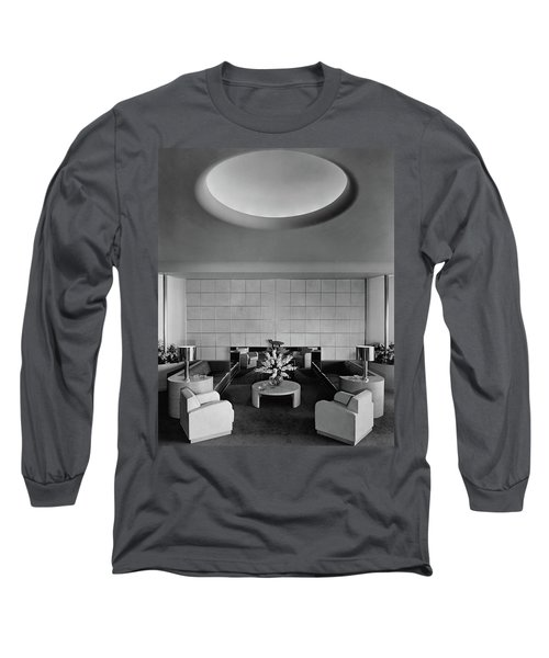 The Executive Lounge At The Ford Exposition Long Sleeve T-Shirt