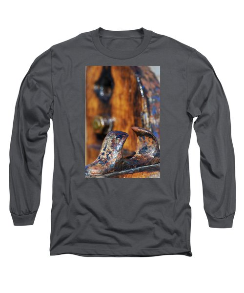 Long Sleeve T-Shirt featuring the photograph The Fairlead by Wendy Wilton