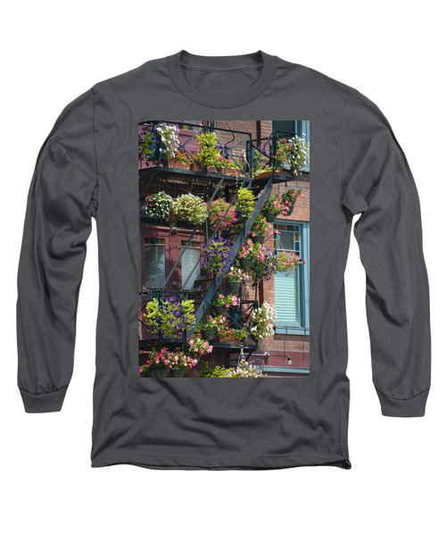 The Fire Escape Long Sleeve T-Shirt
