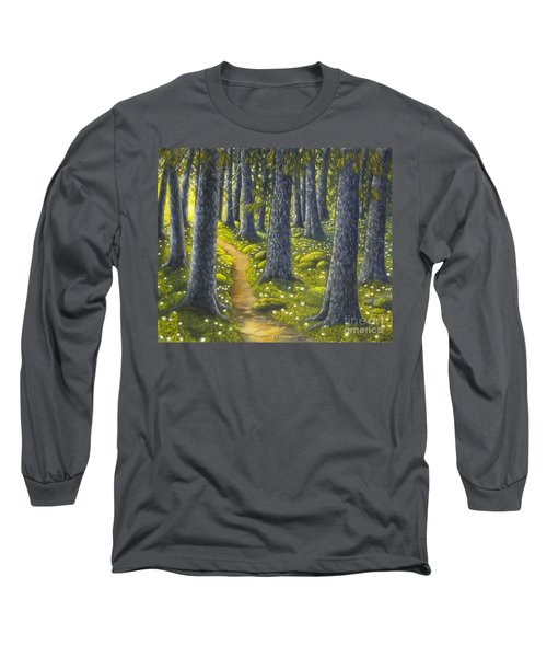 The Forest Path Long Sleeve T-Shirt