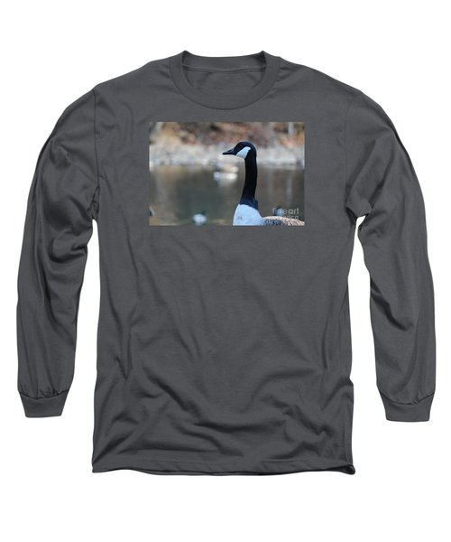 The Gander Long Sleeve T-Shirt by David Jackson