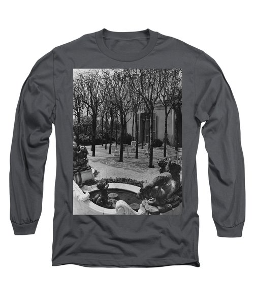 The Garden Of A Home In Meridian Hill Long Sleeve T-Shirt