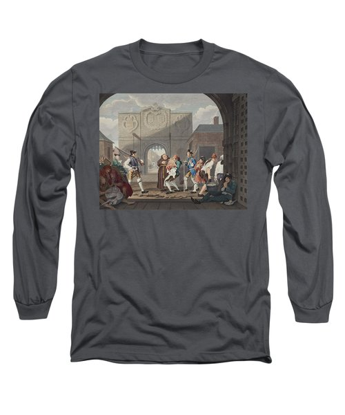 The Gate Of Calais, Or O The Roast Beef Long Sleeve T-Shirt