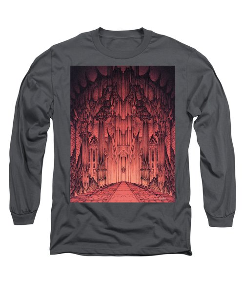 The Gates Of Barad Dur Long Sleeve T-Shirt