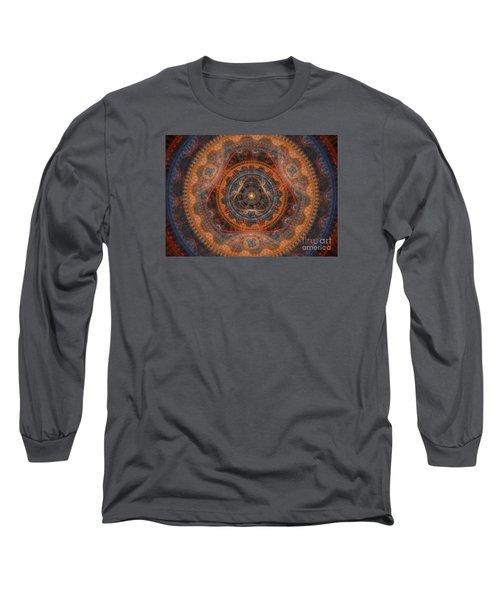 The God's Eye Long Sleeve T-Shirt by Martin Capek