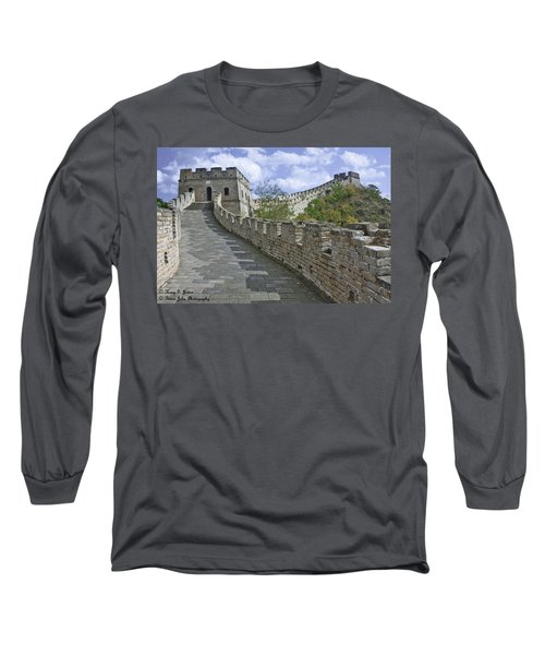 The Great Wall Of China At Mutianyu 1 Long Sleeve T-Shirt