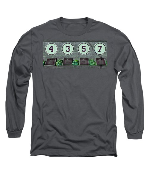 The Greatest Yankees Long Sleeve T-Shirt by Allen Beatty