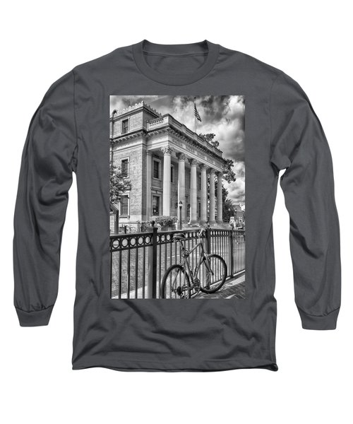 The Hippodrome Theatre Long Sleeve T-Shirt by Howard Salmon