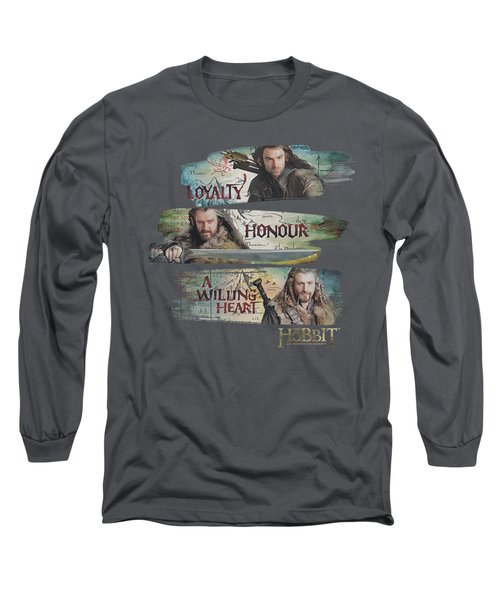 The Hobbit - Loyalty And Honour Long Sleeve T-Shirt