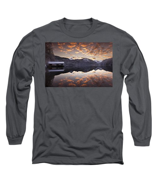 The Hut By The Lake Long Sleeve T-Shirt