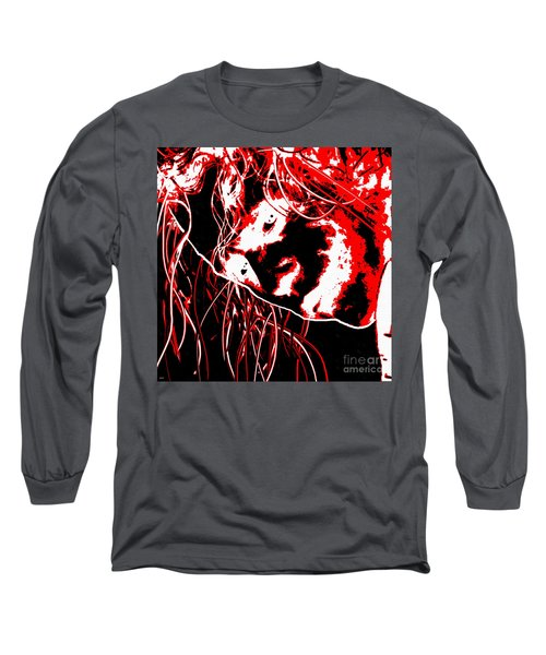 The Joker Long Sleeve T-Shirt by Daniel Janda