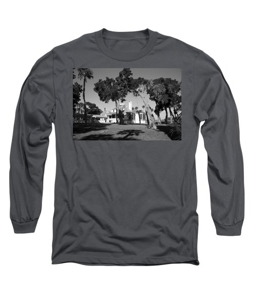 Long Sleeve T-Shirt featuring the photograph The Kingsley Plantation by Lynn Palmer
