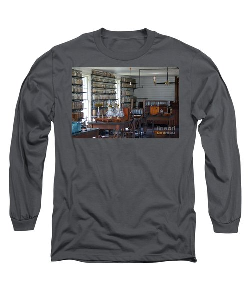The Laboratory Long Sleeve T-Shirt by Patrick Shupert