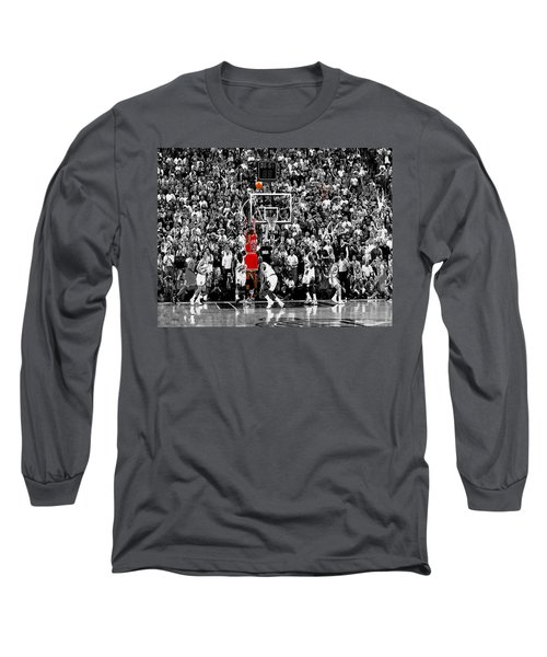 The Last Shot 1 Long Sleeve T-Shirt by Brian Reaves