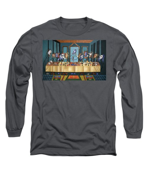 The Last Supper Long Sleeve T-Shirt