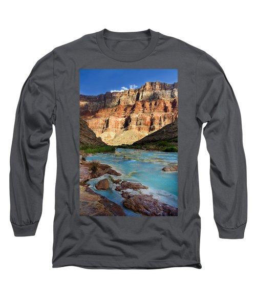 The Little Colorado  Long Sleeve T-Shirt by Ellen Heaverlo