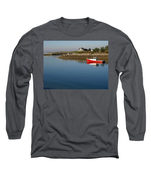 The Little Red Boat Long Sleeve T-Shirt