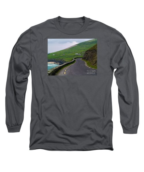 The Long And Winding Road Long Sleeve T-Shirt by Patricia Griffin Brett