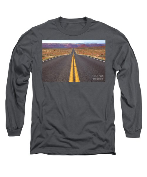 The Long Road Ahead Long Sleeve T-Shirt