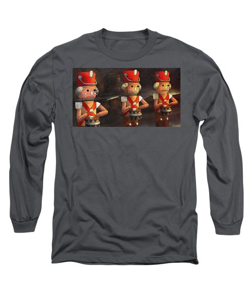 The March Of The Wooden Soldiers Long Sleeve T-Shirt by Reynold Jay
