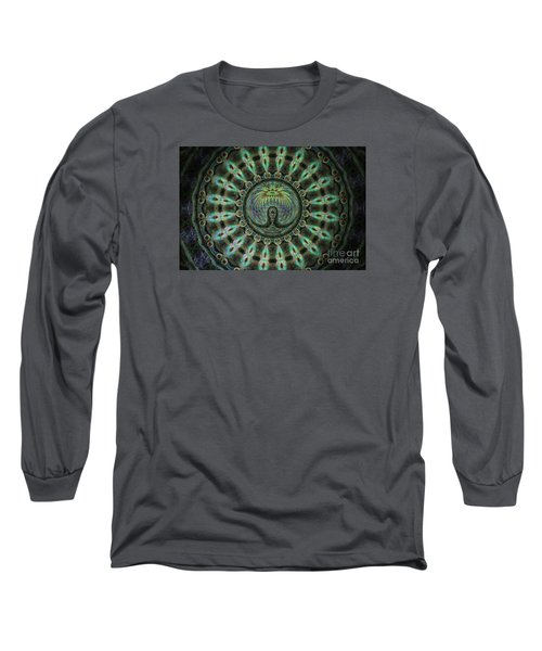 Long Sleeve T-Shirt featuring the photograph The Mask by Donna Brown