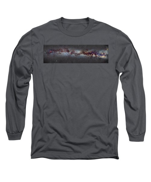 The Milky Way From Scorpio And Antares To Perseus Long Sleeve T-Shirt