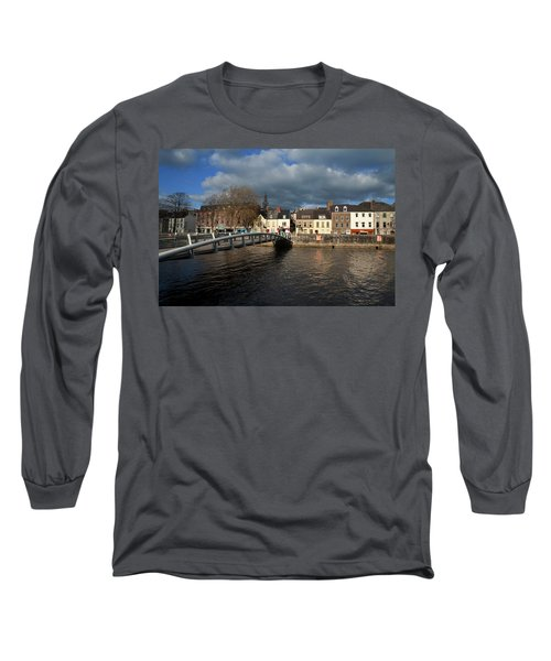 The Millenium Foot Bridge With St Annes Long Sleeve T-Shirt