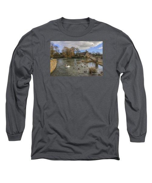 The Millhouse At Fairford Long Sleeve T-Shirt