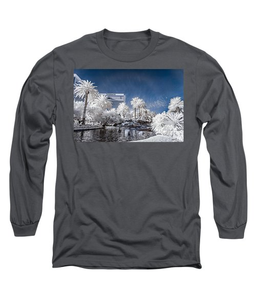 The Mirage In Infrared 1 Long Sleeve T-Shirt